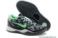 8204953fc70 Cheap Nike Kobe 8 Black Green Glow White For Sale Shoes store sell the cheap  Nike Kobe VIII online