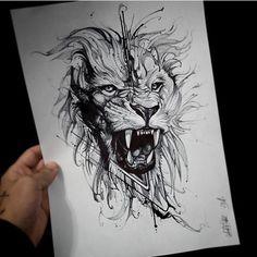 The photo- Фотография The photo - Lion Head Tattoos, Leo Tattoos, Future Tattoos, Animal Tattoos, Body Art Tattoos, Hand Tattoos, Sleeve Tattoos, Tattoos For Guys, Tatoos