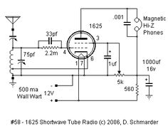 6K7 DX Radio Schematic | ЛУНА | Pinterest | Radios, Diy electronics Wiring Diagram For A Vacuum Tube Radio on vacuum tube schematic diagram, vacuum cleaner wiring diagram, vacuum pump wiring diagram, vacuum tube heater diagram, t8 tube wiring diagram,