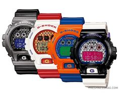 "Casio G-Shock - ""Crazy Colors: Metallic Stars"" Series"