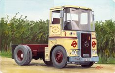 The showcase site for the creative work of WD, GS, and DP Cooper Old Lorries, Original Paintings For Sale, London Transport, Bus Station, Commercial Vehicle, Classic Trucks, Big Trucks, Transportation, The Originals