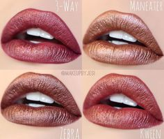 makeup by jesi- colourpop metallics