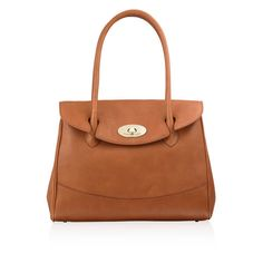 fde685d152 Russell   Bromley Hurlingham leather carriage bag Russell   Bromley