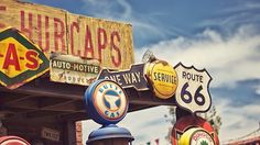 Route 66 Road Trip – Attractions and Historic Hotels Along the Way Best American Road Trips, Stephen Shore, Route 66 Road Trip, Vacation Places, Vacations, Vacation Ideas, Vacation Spots, On The Road Again, Summer Fun