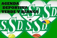 La Agenda Deportiva Verde y Blanca para este fin de semana está en: www.clubssd.com.ar Day Planners, News, Green, Sports
