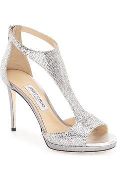 586efbd7f Jimmy Choo  Lana  Sandal (Women) available at  Nordstrom Silver High Heel