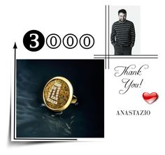 """Anastazio-Thank you!"" by anastazio-kotsopoulos ❤ liked on Polyvore featuring Anastazio, gold, vogue, luxury and finejwelry"
