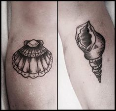Shell tattoos on forearm                                                                                                                                                                                 More