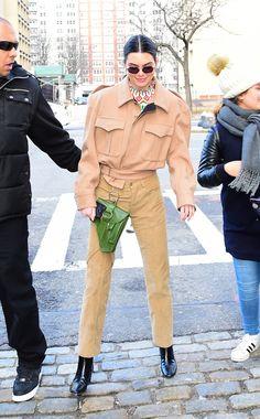 Kendall Jenner en Private Policy à la Fashion Week de New York automne-hiver 2018-2019