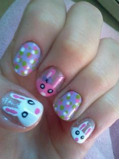 Easter by dbryant88 - Nail Art Gallery nailartgallery.nailsmag.com by Nails Magazine www.nailsmag.com #nailart