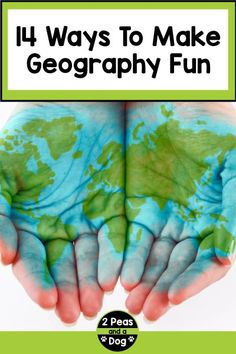 Learn 14 different ways to make geography class relevant, fun and engaging for teachers and students from 2 Peas and a Dog. Geography Lesson Plans, Geography Activities, Teaching Jobs, Teaching Resources, Classroom Organization, Classroom Management, Middle School Geography, First Week Activities, 21st Century Classroom