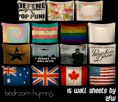 Bedroom Hymns - 15 Wall Sheets - Two Fingers Whiskey