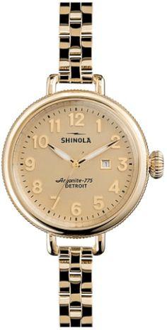 1ba32c89045 Women s Shinola  The Birdy  Bracelet Watch