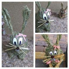 #zające #Wielkanoc #wiosna #dekoracje #robótkiręczme #diy #handmade #ozdoby #rabbits #spring #Easter #decorations #hand-crafted