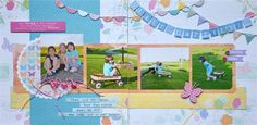 Photographs & Memories - Darla Weber Kit - Live Happily Layout Kit