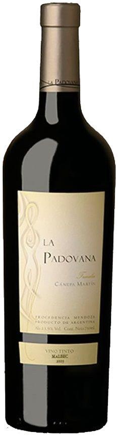 """""""La Padovana"""" Malbec 2012 - Bodega Canepa Martin, Luján de Cuyo, Mendoza-----------------Terroir: Ugarteche----------Crianza: 12 meses en barricas de roble"""