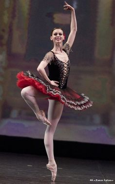 Anastasia Matvienko in Don Quixote. Photo (c) Stas Levshin. Don Quixote was brought from Russia to other countries first by Anna Pavlova's company in 1924 in an abridged version of Gorsky's 1902 production. The famous Grand Pas de Deux from the ballet's final scene was staged in the west as early as the 1940s.