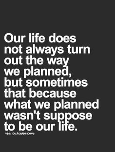 This resonates with me not only for obvious reasons but because it's become very apparent that life is ever changing and sometimes that's on a grand scale.