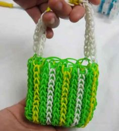 No outfit feels complete without a touch of Loom. | The 17 Stages Of Rainbow Loom Obsession