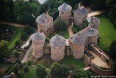 ✈️ Photo aérienne de Lassay-les-Châteaux - Mayenne (53)