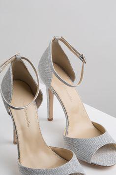KACHOROVSKA / textile high heel wedding sandals Peeps, Peep Toe, High Heels, Sandals, Wedding, Shoes, Fashion, Zapatos, Valentines Day Weddings