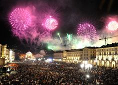New year's day in Turin