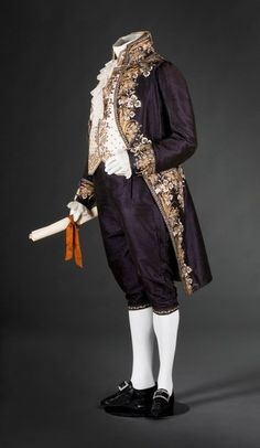"Court suit of Johann Nepomuk Hummel, 1810-14 From the FIDM Museum via Nick Verreos ""Lord Akeldama moment."""