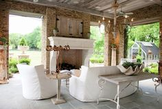 White and airy   From :: Driven by Decor