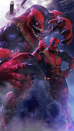 Deadpool Venom Picture for Mobile Phone Wallpaper - HD Wallpapers Deadpool Et Spiderman, Art Spiderman, Deadpool Funny, Deadpool Movie, Deadpool Quotes, Deadpool Costume, Deadpool Chibi, Ms Marvel, Marvel Comics Art