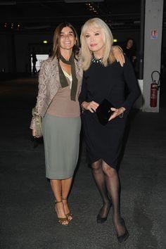 Carine Roitfeld Photos: Front Row at Givenchy
