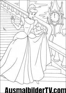 Cinderella Ausmalbilder Zum Ausdrucken Ausmalen Ausmalbilder
