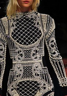 Balmain Fall 2012: Inspired by Elizabeth Taylor's Faberge Egg
