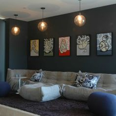 Teen Basement Design Ideas, Pictures, Remodel and Decor
