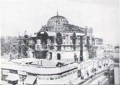 Palacio de Bellas Artes en 1906 en Ciudad de Mexico