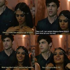 Lightwoods are such cuties. #Shadowhunters #1x04 .