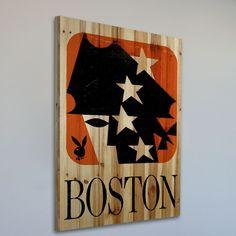 Playboy Boston Painting Print