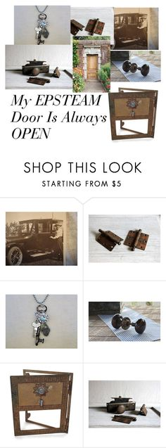 """Salvage Items Or Old Photos....EPSTEAM has it"" by missenpieces ❤ liked on Polyvore featuring interior, interiors, interior design, home, home decor, interior decorating and Restoration Hardware"
