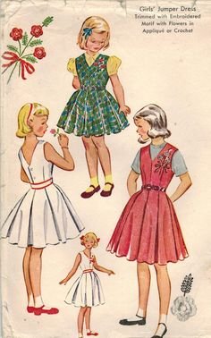 1950s McCall's 1827 Vintage Sewing Pattern by midvalecottage