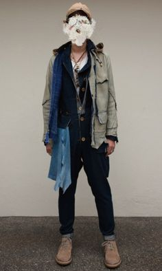 The Soloist S/S 2012 by Takahiro Miyashita Autumn Winter Fashion, Fall Winter, Winter Style, Blazers, The Soloist, Street Wear, Hipster, Mens Fashion, Pure Products