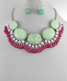 Bijoux Boutique | J Crew Inspired Fan Necklace Set | Online Store Powered by Storenvy