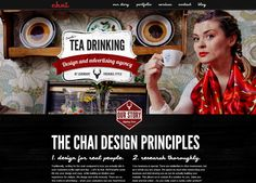 Vintage website inspiration https://chaistudios.ca/
