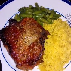 Hump Day Dinner:Sauteed/Oven Grilled Savory Rosemary Pork