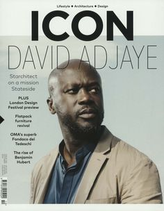 David Adjaye - Starchitect on a mission Stateside. Gefunden in: ICON / GB, Nr. 160/2016