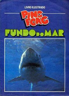 Álbum de Figurinhas Ping Pong Fundo do Mar 1992 #nostalgia #anos90