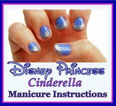 Disney Moms Cinderella manicure