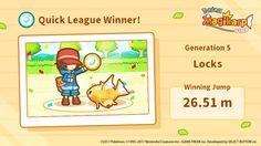 We beat the Quick League! You're magical, Mig! #Magikarp http://koiking.jp/r/