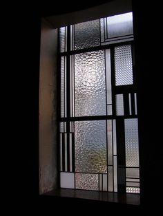 Ateliers Duchemin - Nos réalisations - Vitrail et décoration - Immeuble Mallet Stevens - Vitraux Barillet