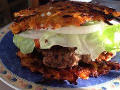 Grated Veg Burger Buns  #PlayEatLivePaleo