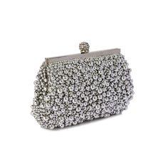 Poșetă de seară clutch vintage cu mărgele agintii Coin Purse, Wallet, Purses, Vintage, Fashion, Handbags, Moda, Fashion Styles, Coin Purses