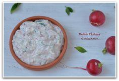 Radish and Yogurt Chutney ~ Raita
